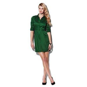 Vince Camuto Green Shirtdress